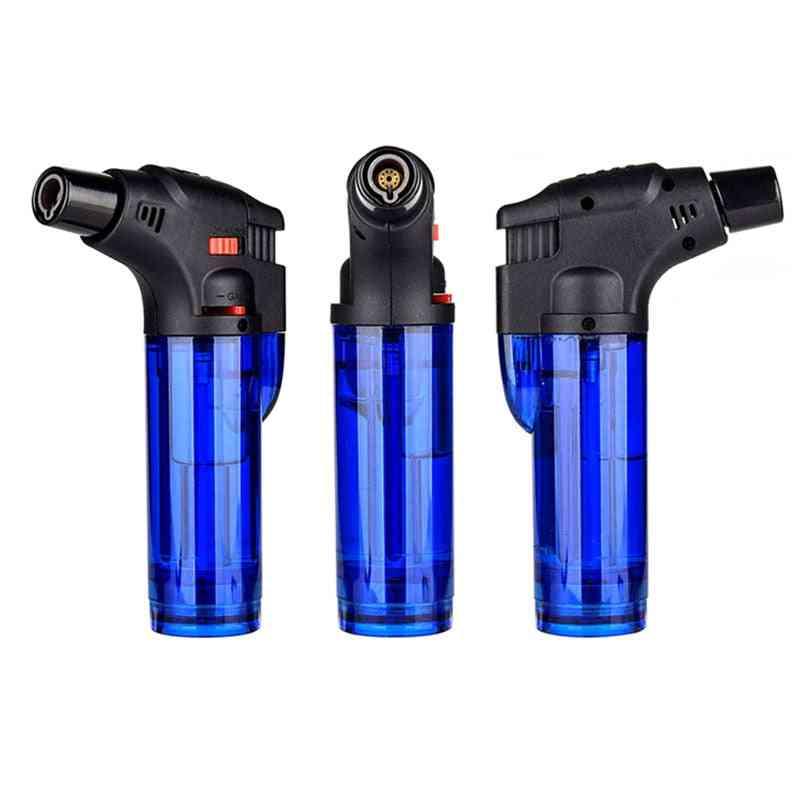 Butane Lighter Torch Refillable Adjustable Flame