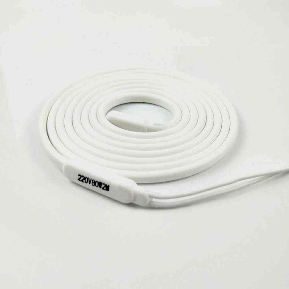 Waterproof Silicone Rubber Insulated Heater Wire For Drain-pipe