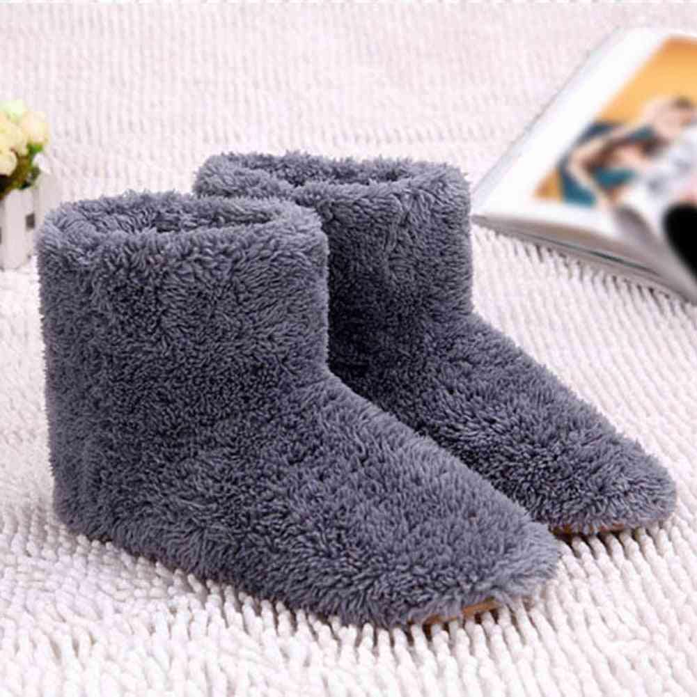 Usb Heated Warm Feet Thick Flip Flop Heat Pads