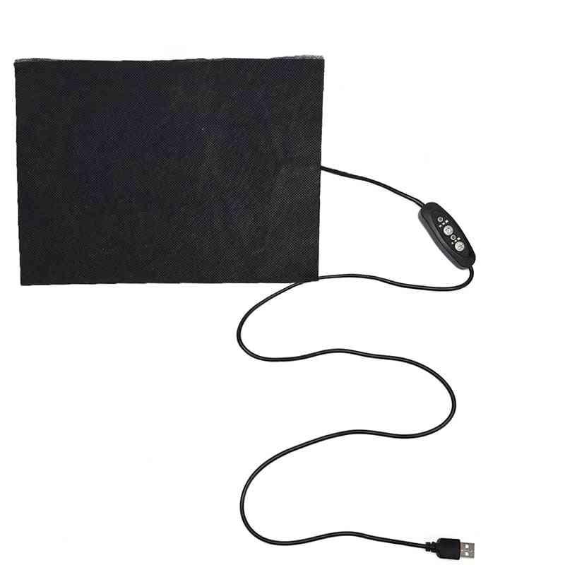 Carbon Fiber Heating Pad, Usb Heatings Film Waterproof Winter Foot Warmer