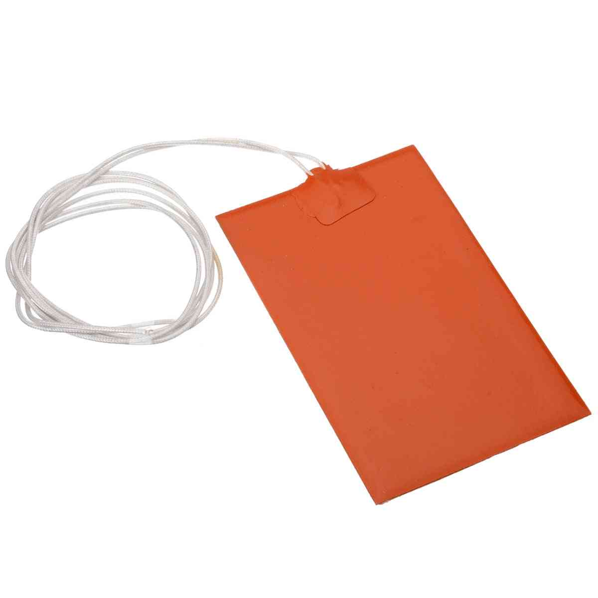 Flexible Waterproof Silicon Heater Pad Wire Engine Block Oil Pan Hydraulic Tank Heating Plate