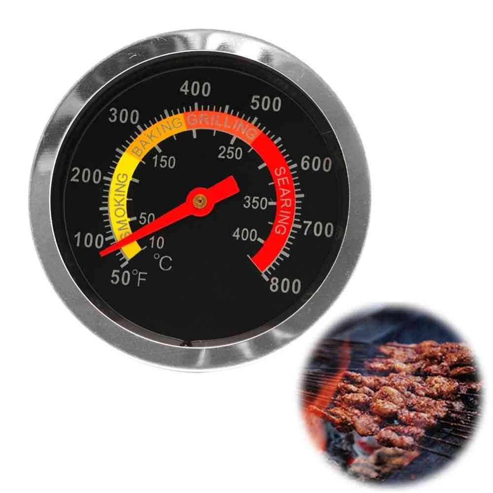 New Stainless Steel Bbq Smoker Grill Thermometer, Temperature Gauge