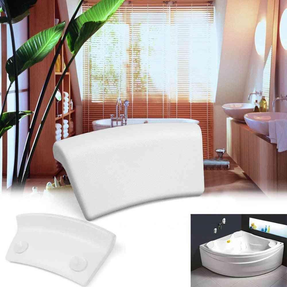 Humanized Bathtub Headrest Bath Pillow With Suction Cups