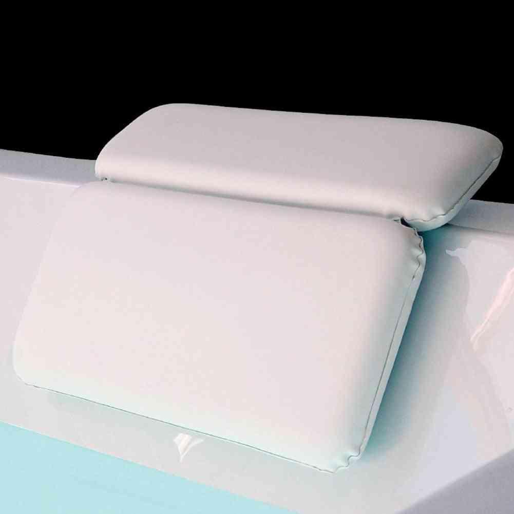 Non-slip Suction Bathtub Pillow, Headrest Cushion