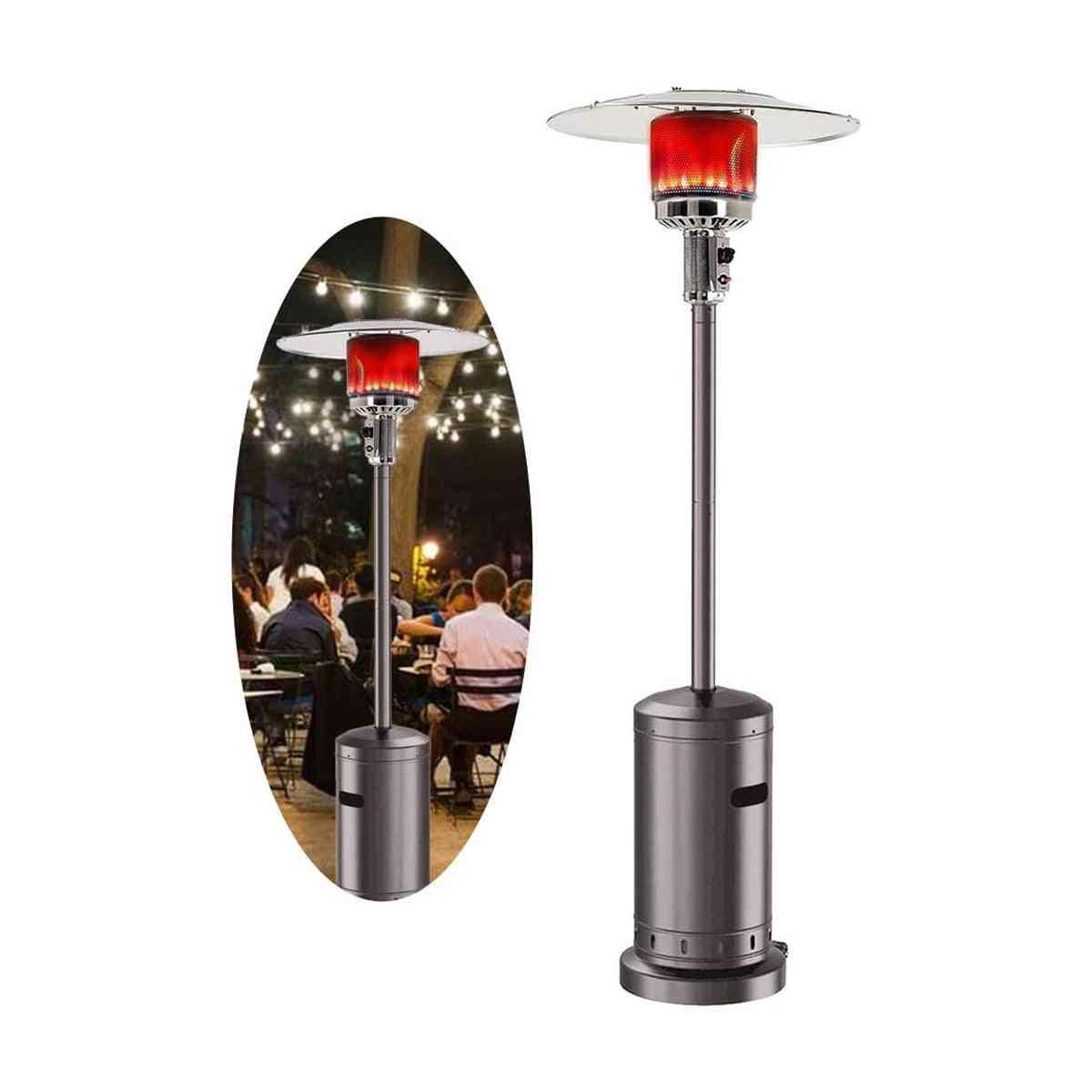 Liquid Propane, Gas Powder Stove, Floorstanding Air Warmer, Umbrella For Outdoor Garden