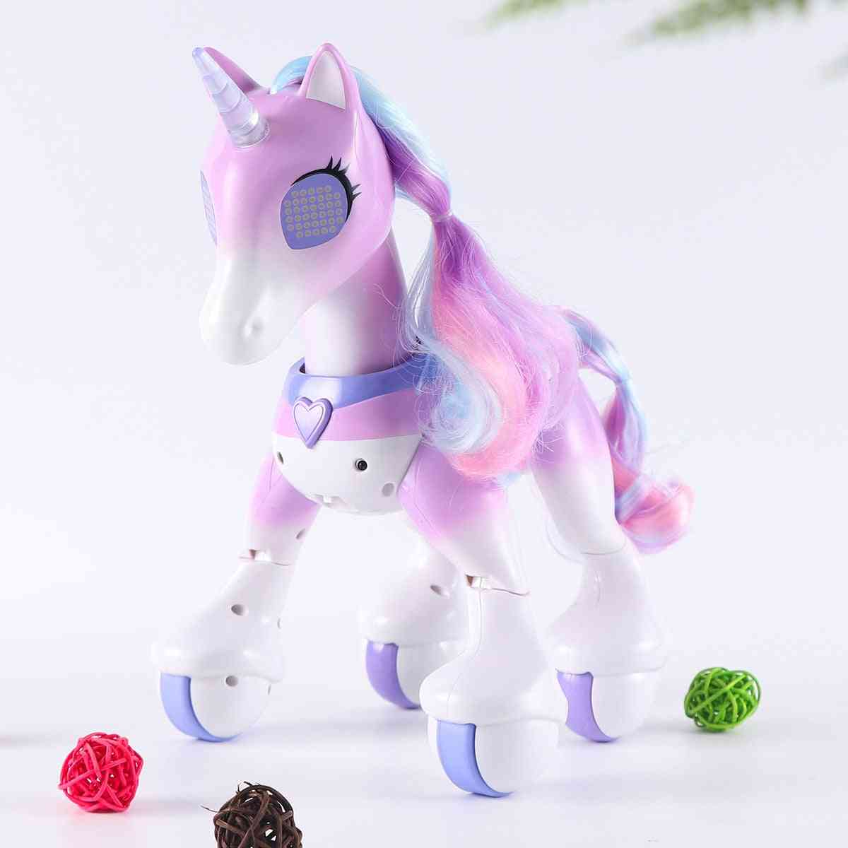 Horse Unicorns, Robot Cute Animal, Induction Remote Control, Electric