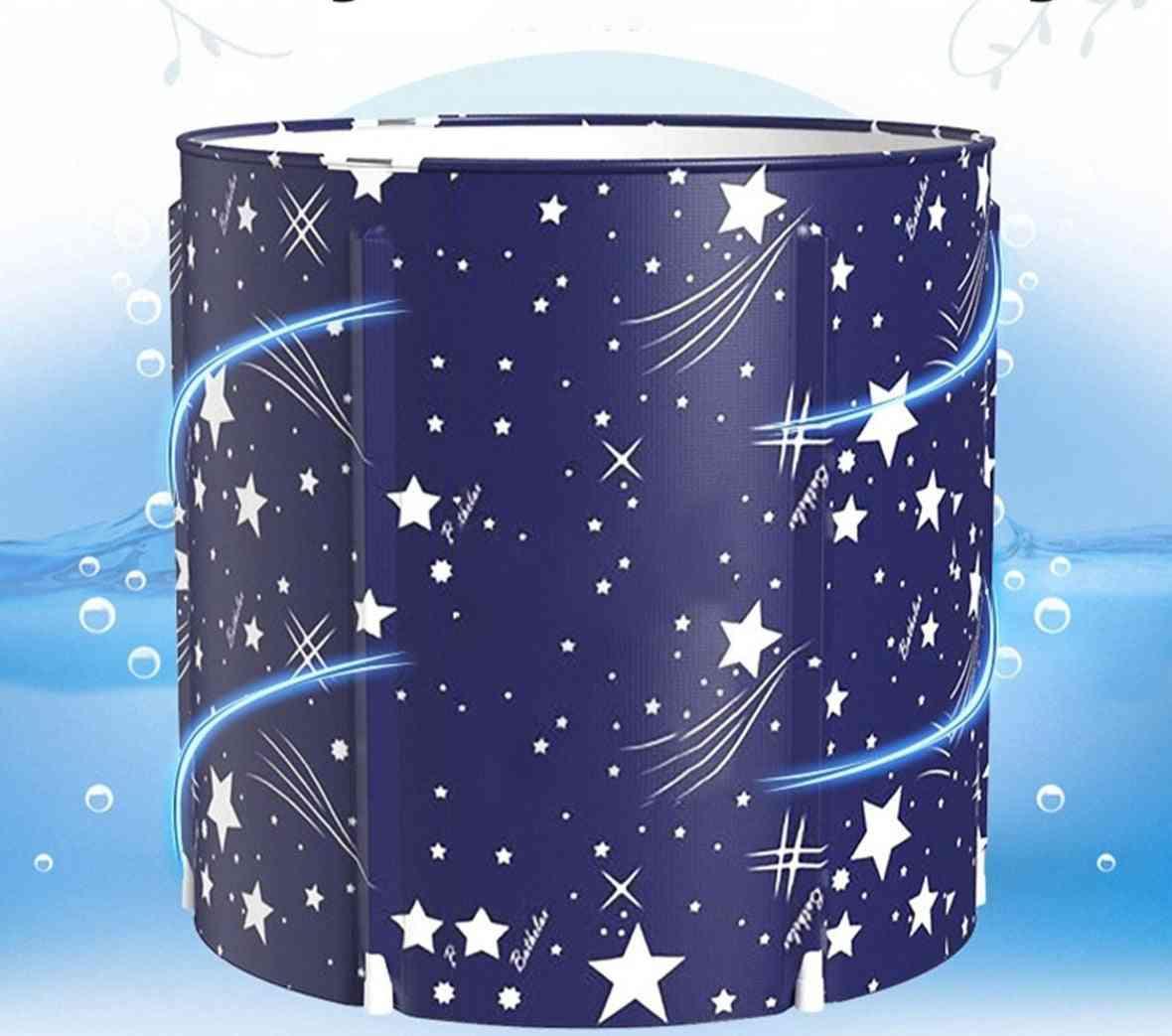 Portable- Bathtub Folding, Bath Bucket