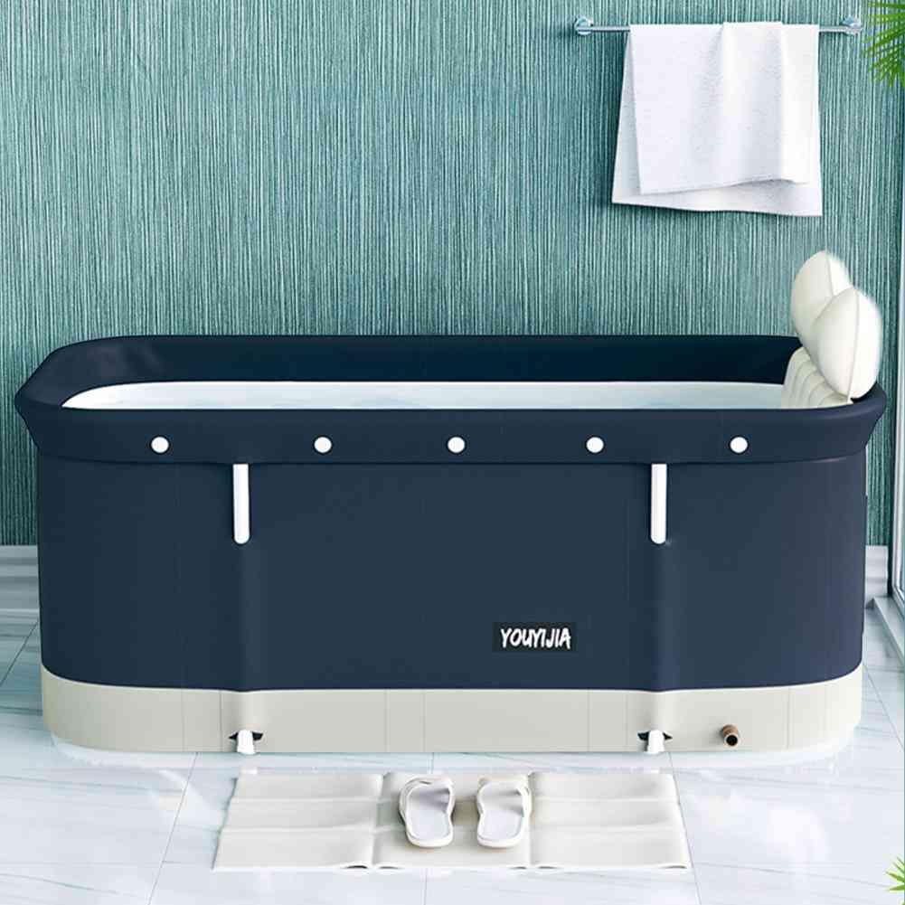 Portable- Folding Bucket, Bathtub Set