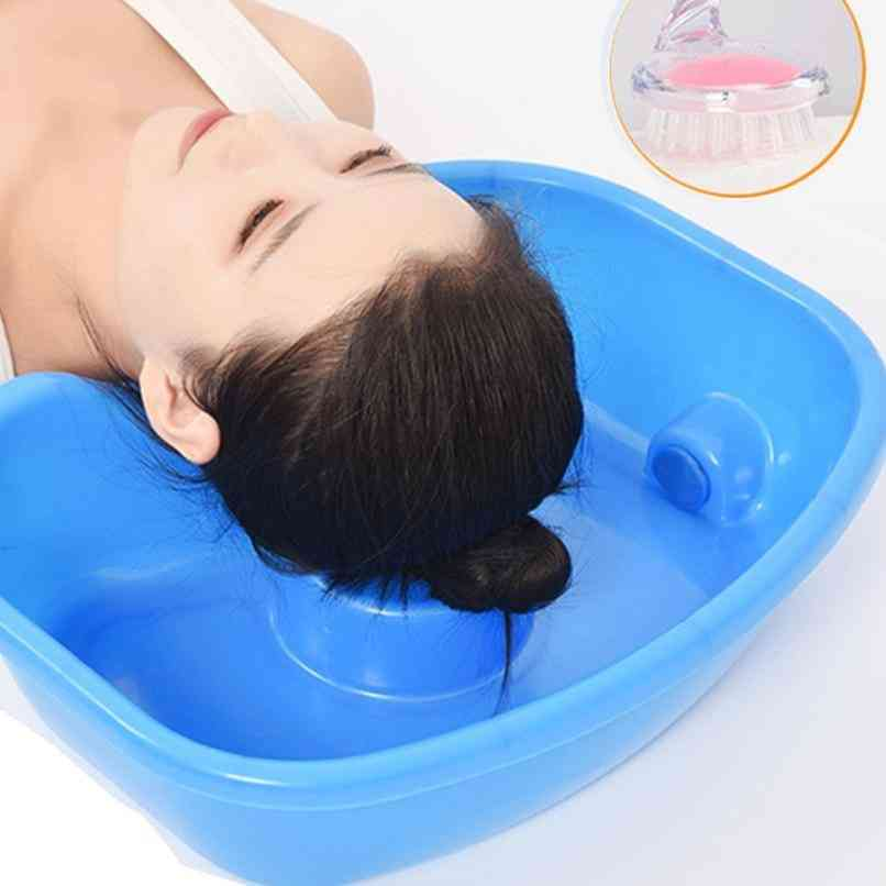 Neck Rest, Hair Washing, Sink Basin (blue)