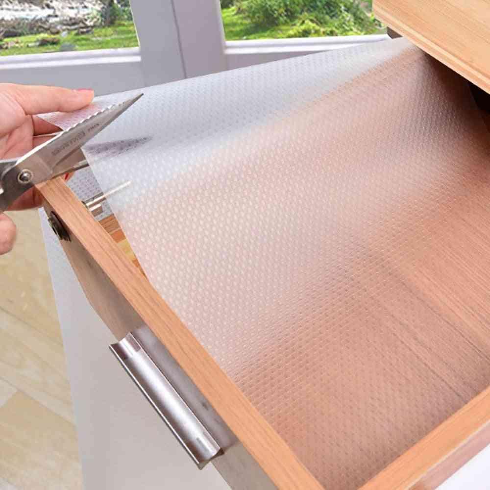 Waterproof- Clear Shelf Drawer, Liner Cabinet