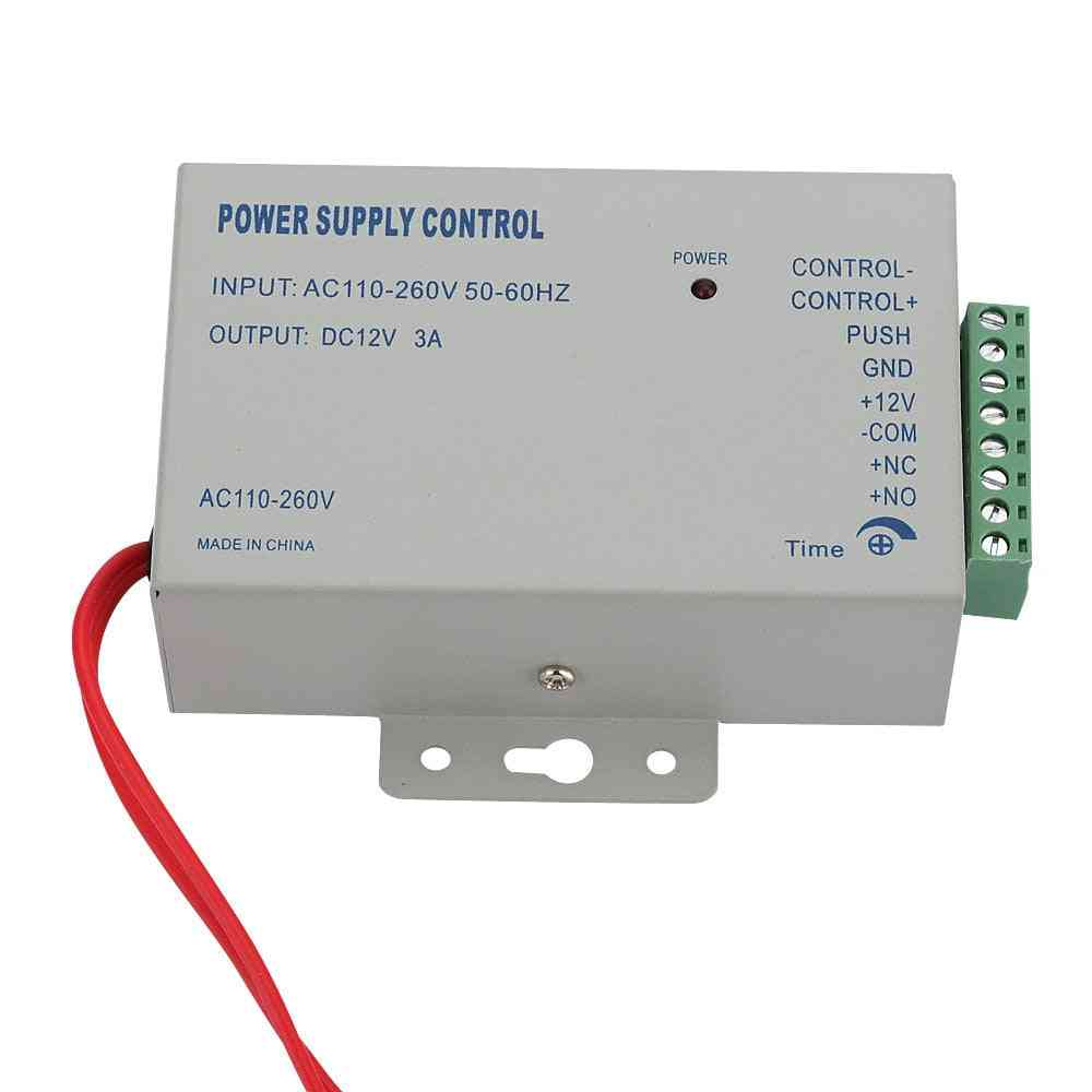 Ac 110-240v To Dc 12v 3a Power Supply For Door Access Control