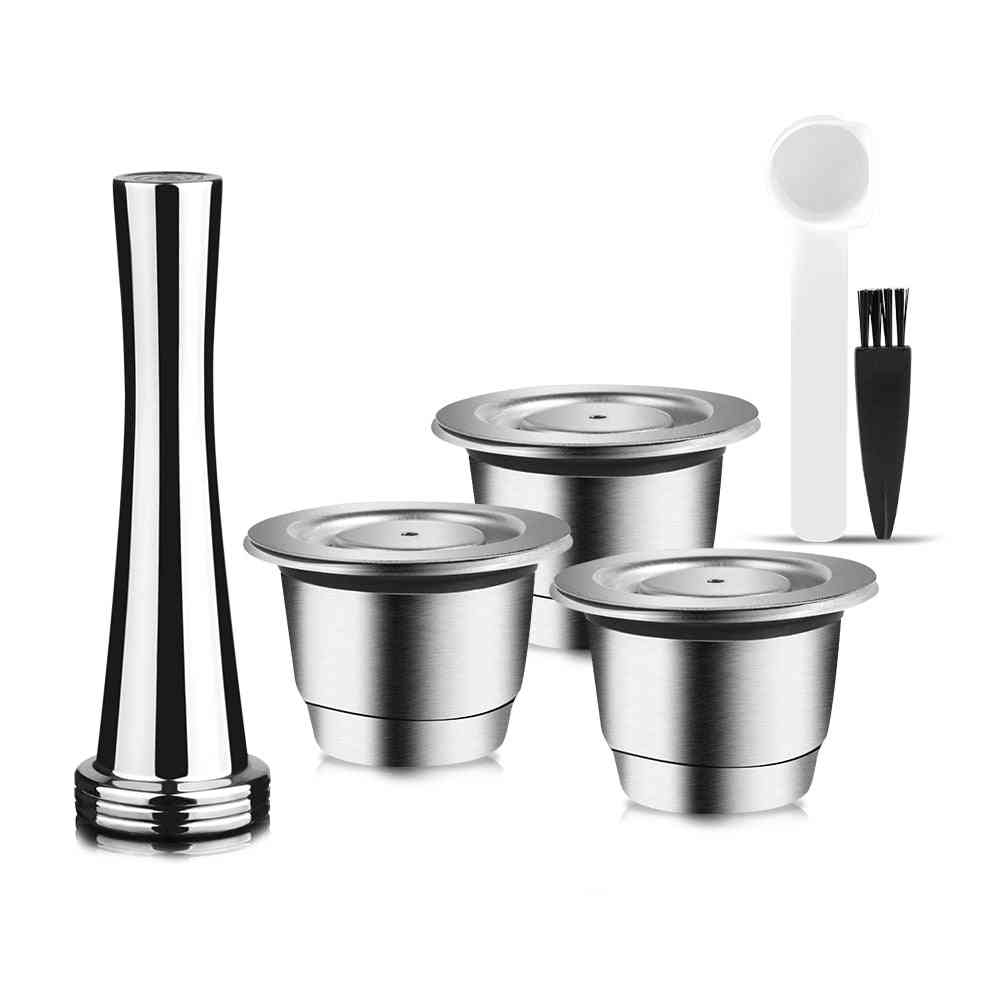 Reusable Capsule For Nespresso Stainless Steel Coffee Filters