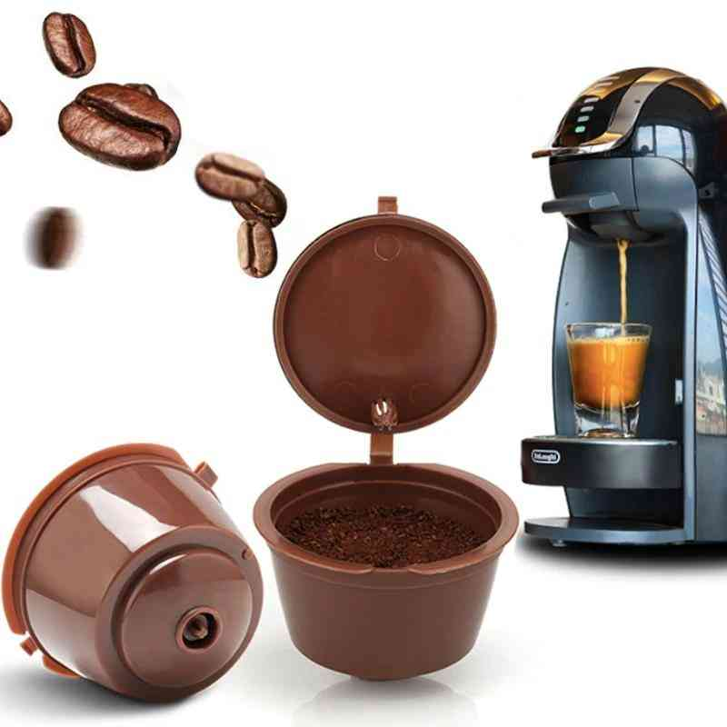 Refillable Capsule Coffee Filter Set