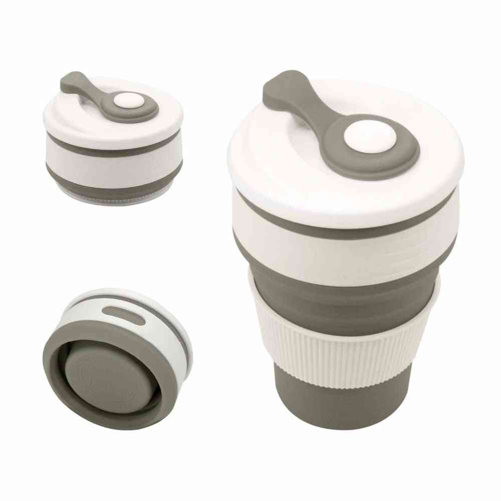 Coffee Mugs, Travel Collapsible Silicone Cup Folding Water