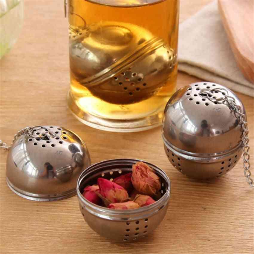 Stainless Steel Ball Tea Infuser Mesh Filter Strainer