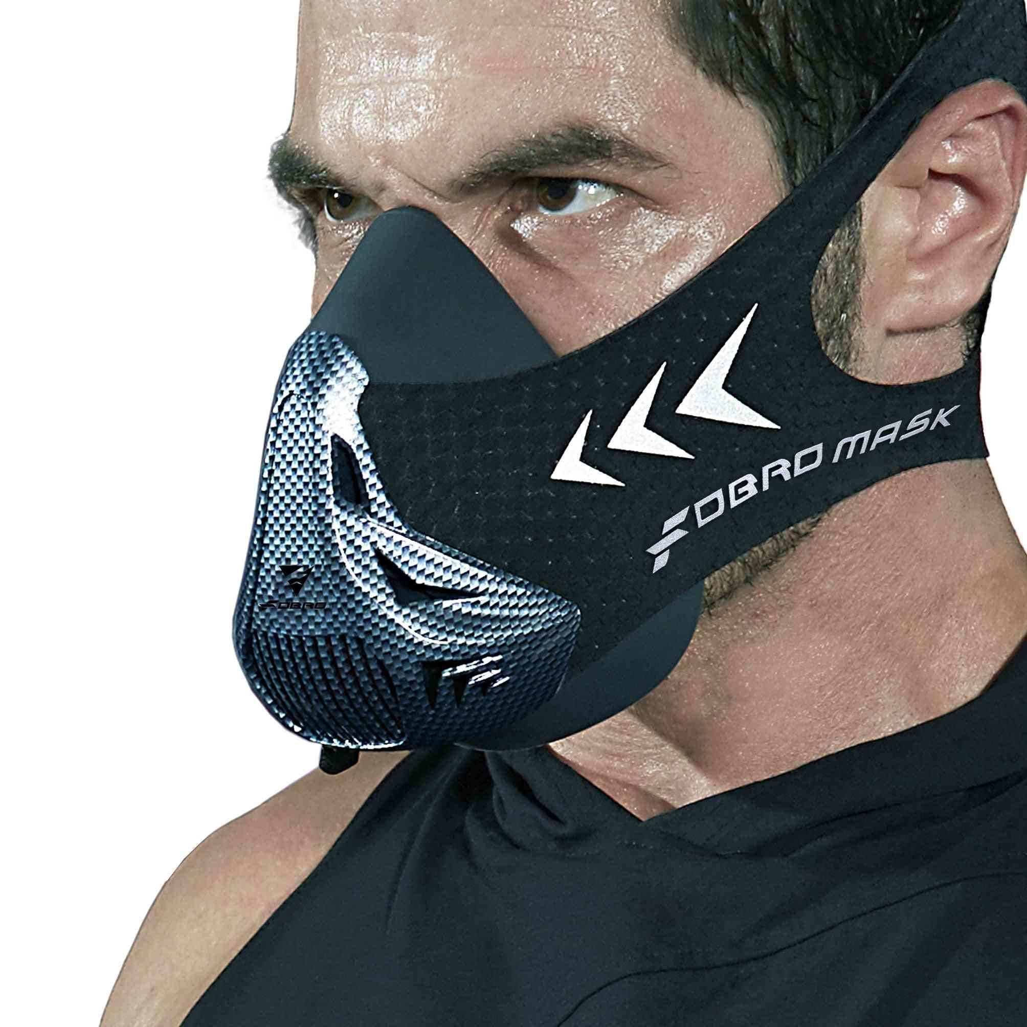 Outdoor Cardiovascular Activities Sports  Fitness Mask