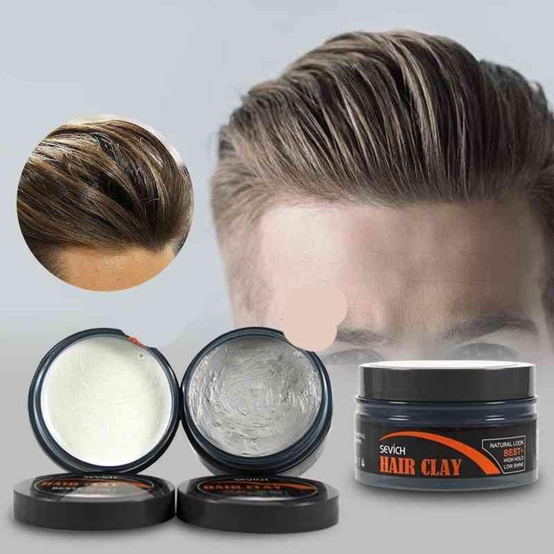 Long-lasting Dry Hair Styling Clay Gel