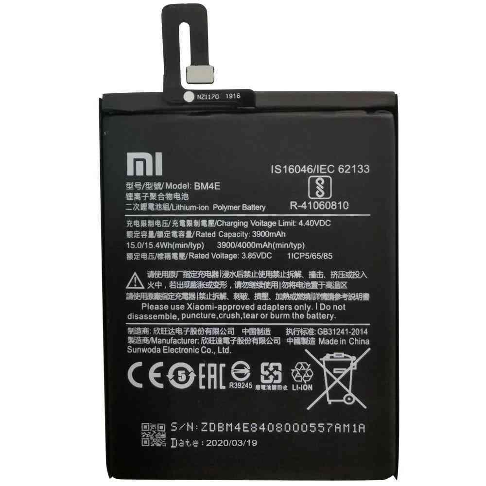 Original Replacement- Battery Bm4e For Xiaomi