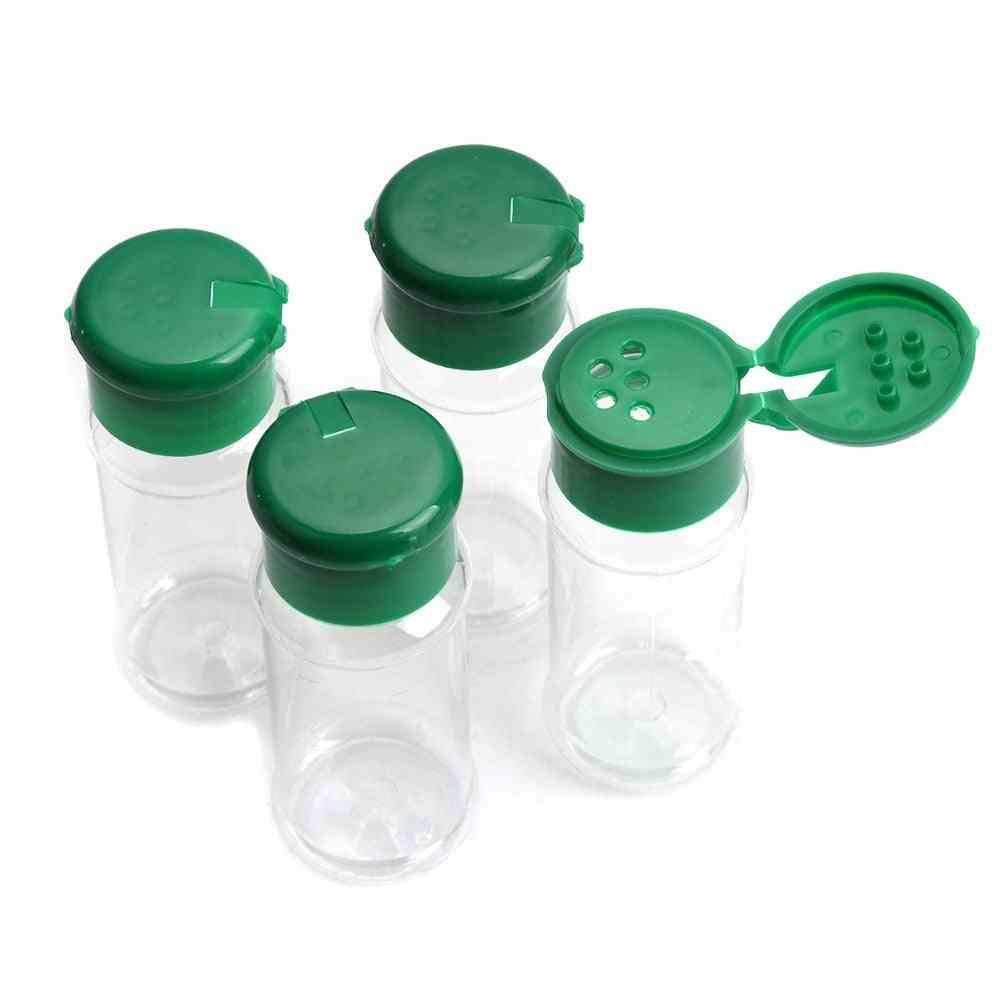 Plastic Salt Pepper Vinegar Oil Cruet Shaker Jar ,clear Bottle Pot