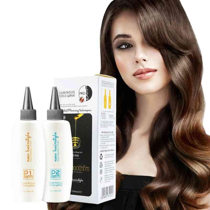 Liquid Cold Wave Hair Perm Lotion Solution Resistant