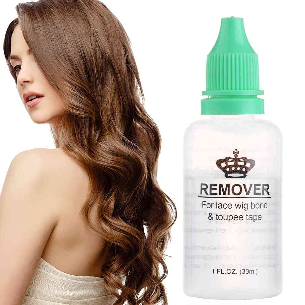 Hair Glue Remover For Lace Bond Toupee, Skin Weft Tape Accessory, Salon Use