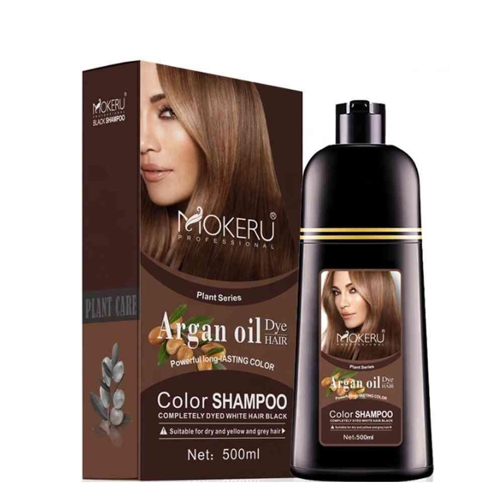 Oil Essence, Instant Hair Color Cream Dye Shampoo