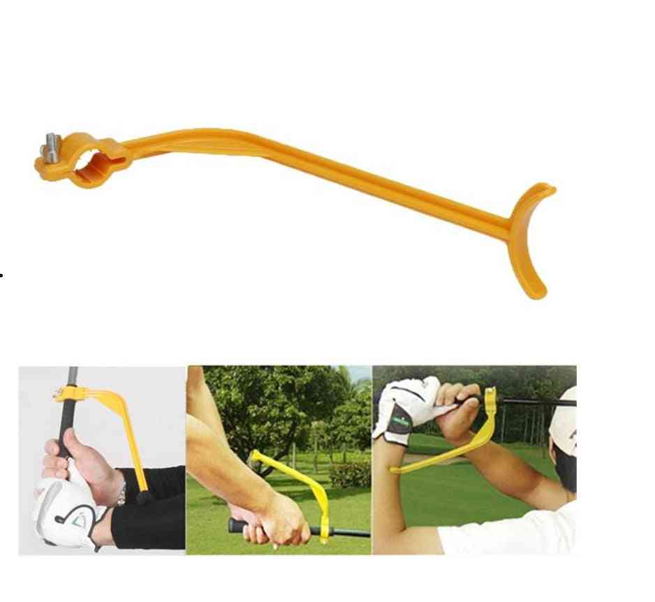 Golf Training Aids, Swing Guide Trainer For Wrist Arm Corrector, Control Gesture