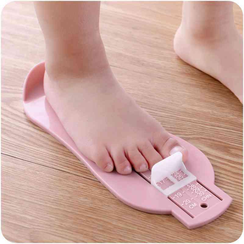 Foot Measure Gauge, Shoe Size Measuring Ruler, Length Growing Fitting Tool