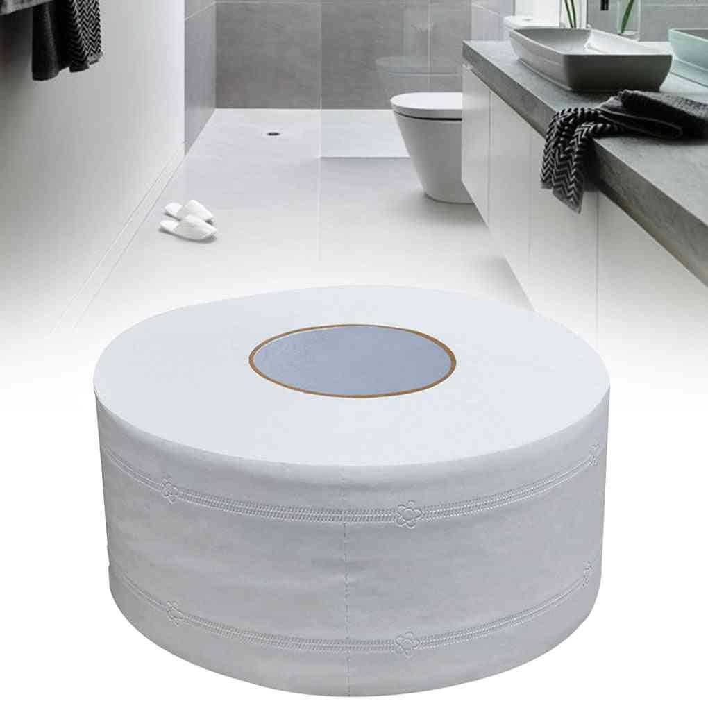 Wood Pulp Big Roll Toilet Tissue Paper For Bathroom, Washroom
