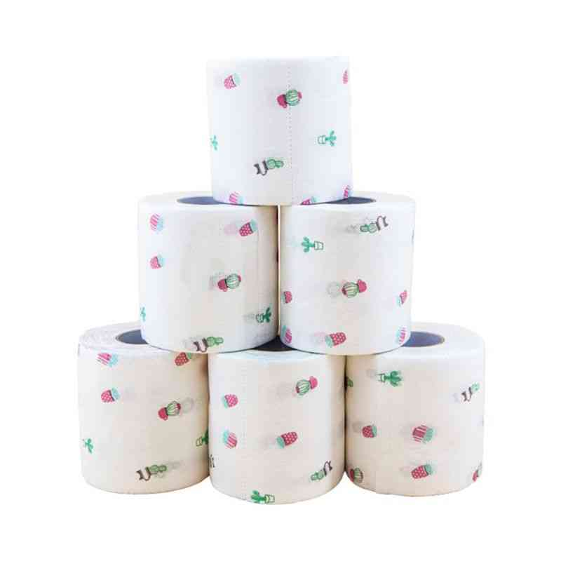 Funny Printed Pattern Toilet Tissue Paper