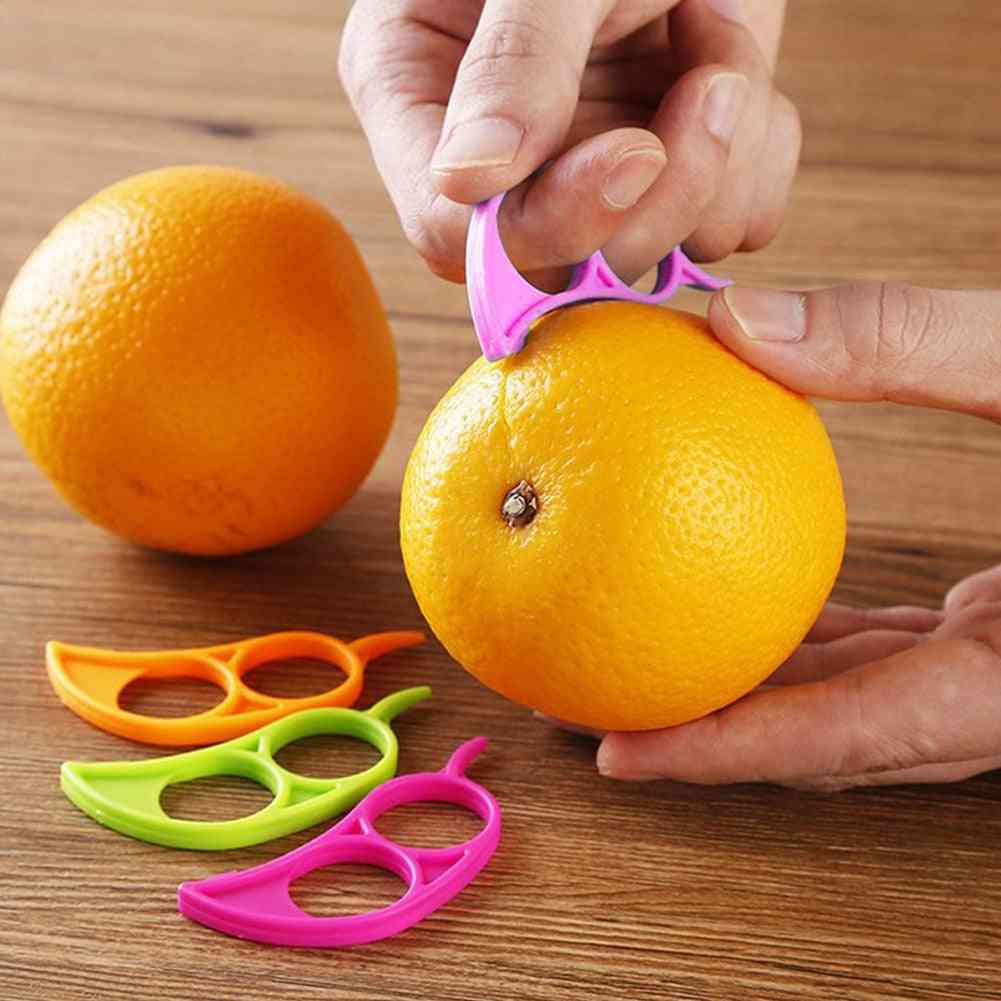 Creative Orange Peelers, Lemon Slicer Fruit Stripper