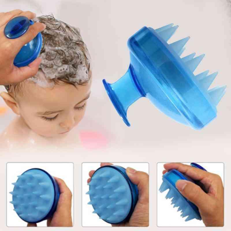 Silicone Hair Shampoo, Scalp Spa Slimming, Washing Comb, Shower Head Brush