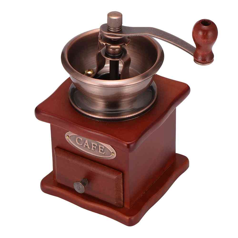 Wooden Manual Coffee Hand Grinder
