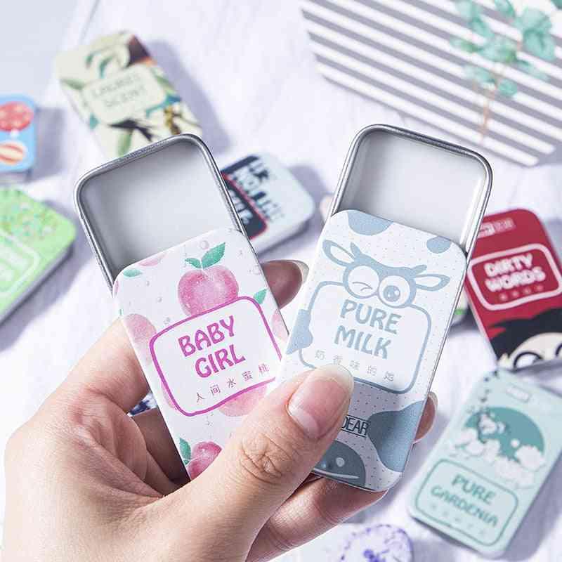 Portable Case Perfume, Fragrances Balm, Mild Long Lasting, Aroma Deodorant