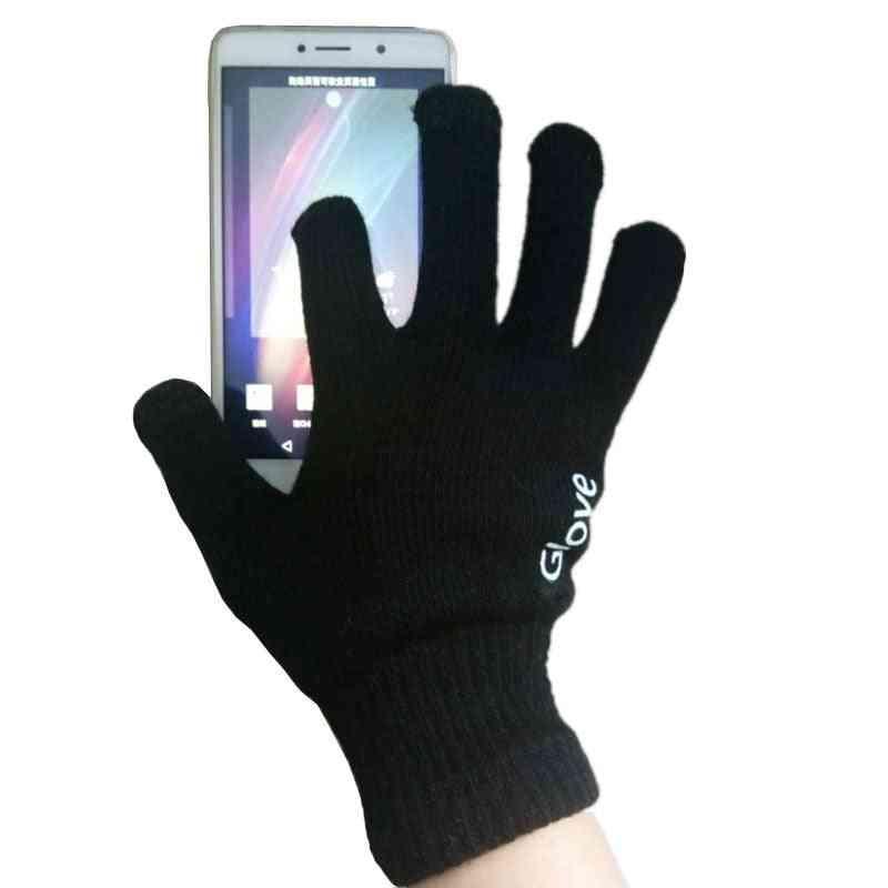 Men & Women Winter Warm Smartphone Driving Gloves