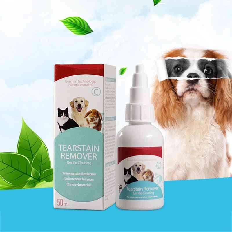 Cats Dogs, Eyes Tear Stain Remover, Anti-inflammatory Bactericidal Cleaner Liquid
