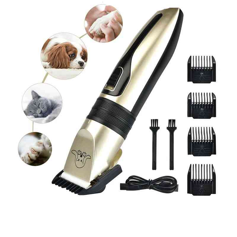 Usb Electrical Pet Hair Clipper Remover