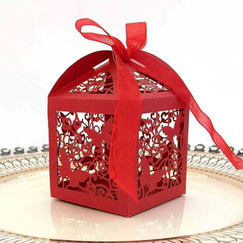 Candy Boxes With Ribbon