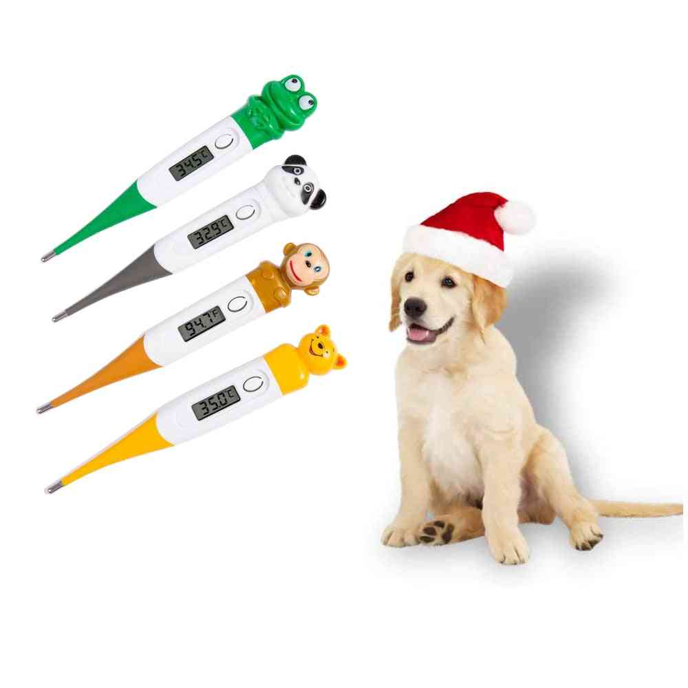 Digital Led Thermometer Veterinary Body, Waterproof For Dogs, Horse, Cats, Pigs, Sheep