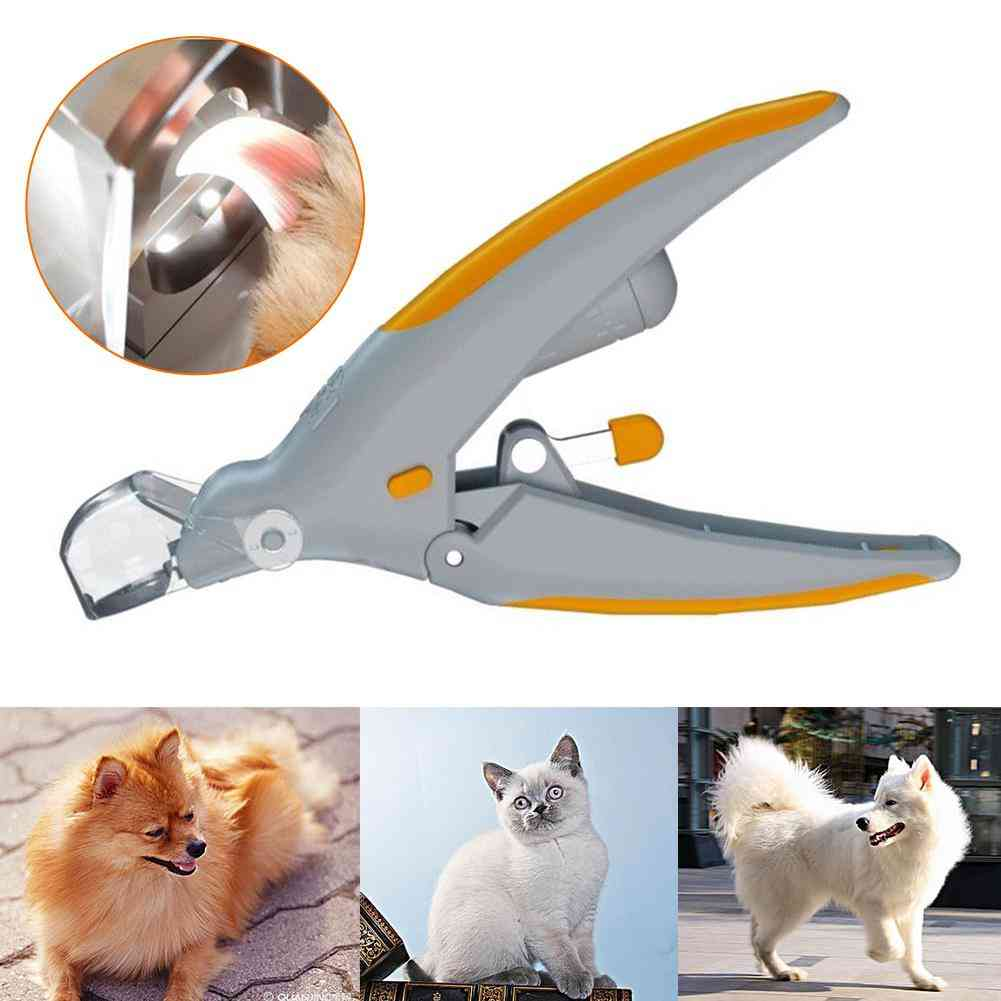 Professional- Nail Clipper, Cutting Machine For Pet (as Shown)
