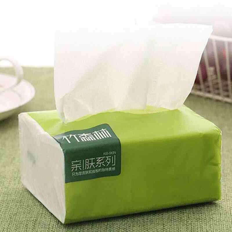 Household Napkin Pumping Pulp Thicken Tissue Paper, Kitchen Cleaning