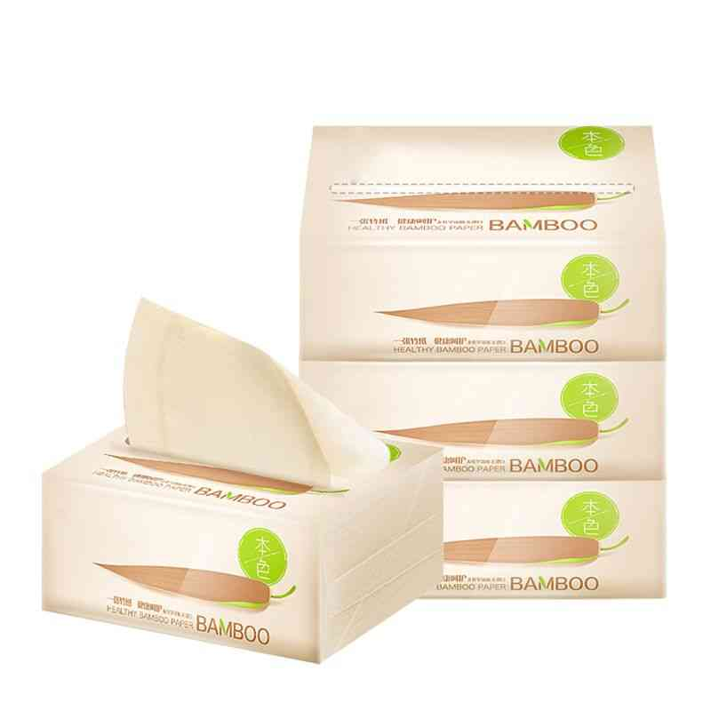 3 Bags, 3-layers Extractable, Soft Wood Pulp, Pumping Tissue Napkin, Toilet Paper