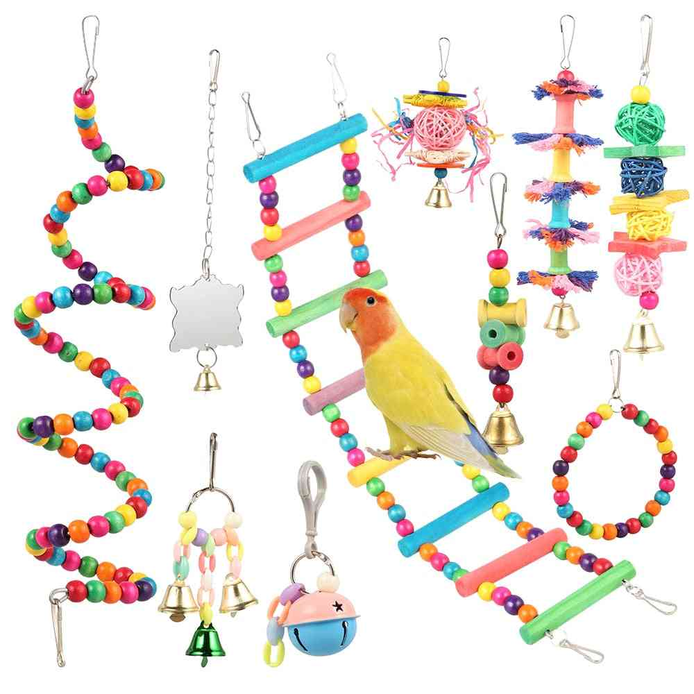 Combination Articles Parrot Bite Bird Toy