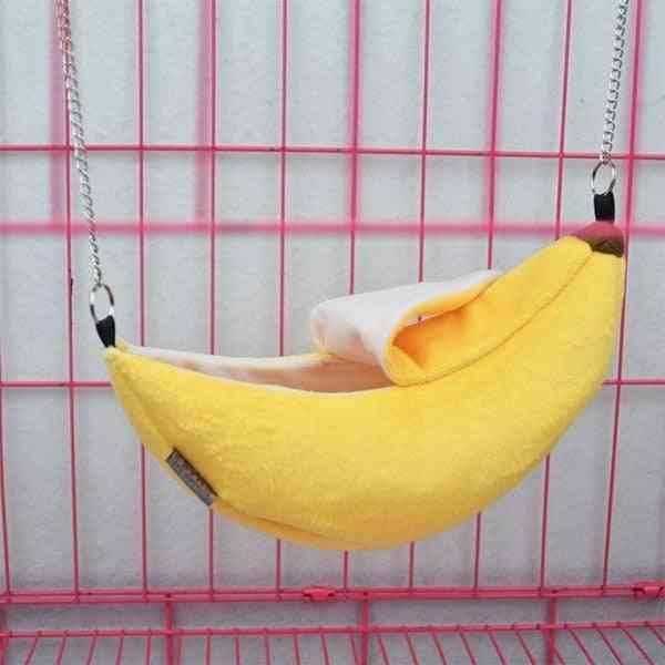 Animals Design Pet Banana Hamster Rat Hammock Cage