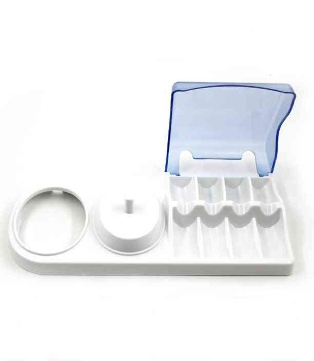 Portable Brush Head Plastic Support Holder