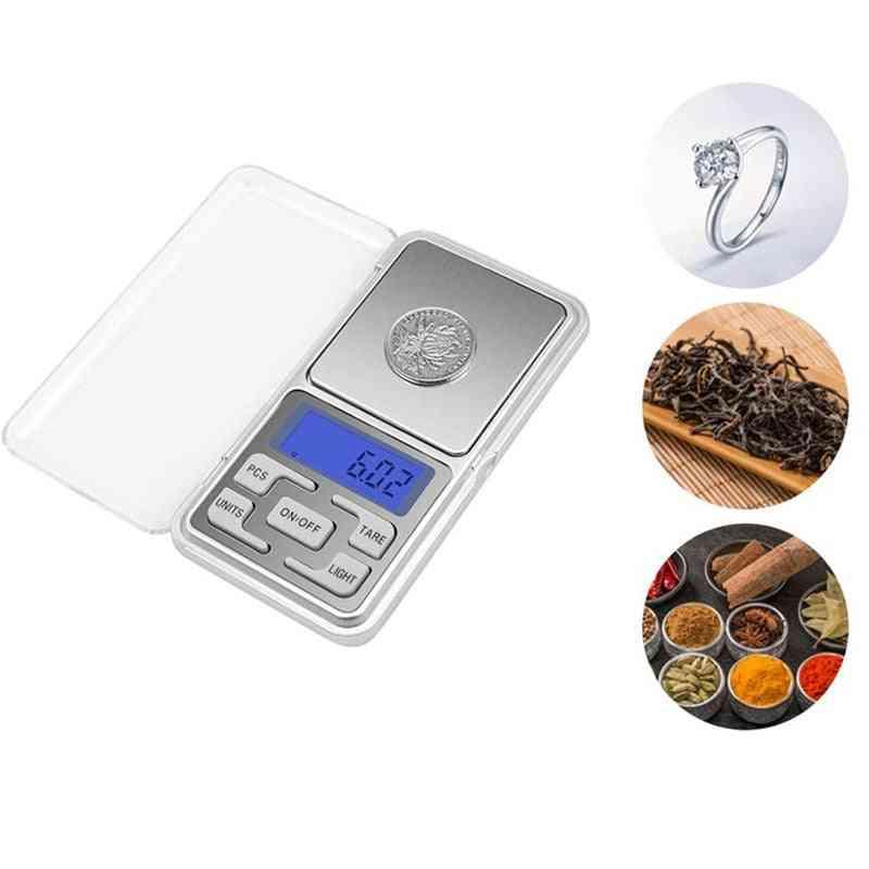 Mini Portable Digital Food Scale Measuring Tool