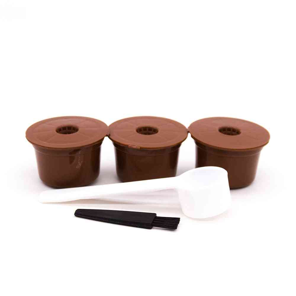 Reusable Coffee Filter Capsules For Refillable Plastic Pods