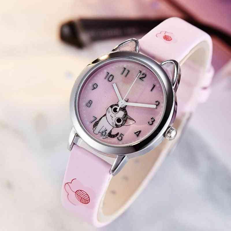 Cute Cat Fashion Jelly Clock, & Watch