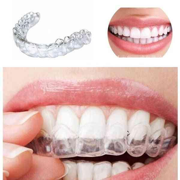 Gel Teeth Whitening Dental Braces - Mouth Trays Guard Thermo Gum Shield