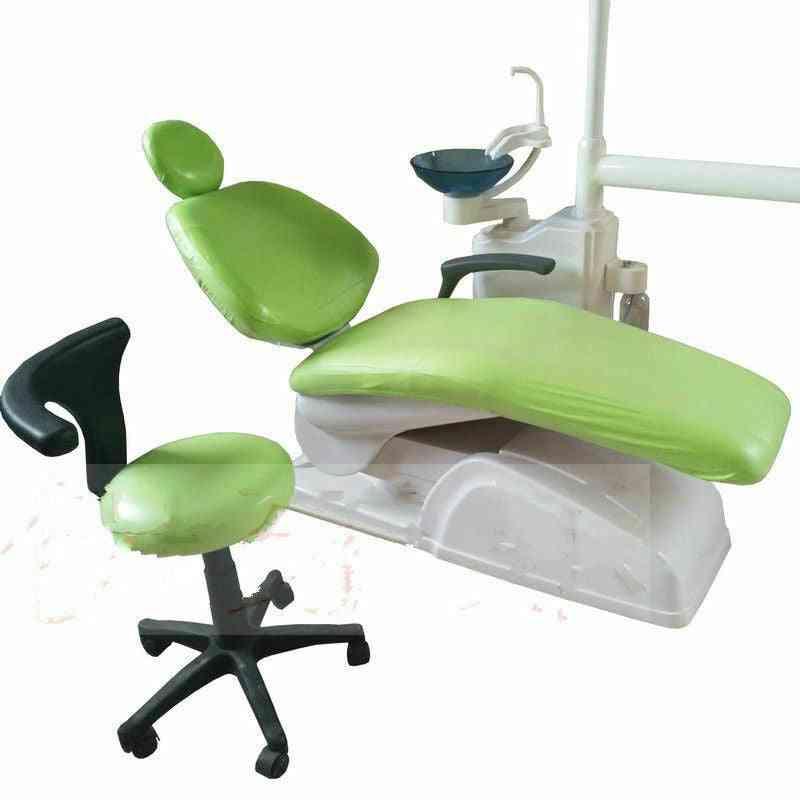 Elastic Waterproof Dental Pu Leather Chair Seat Cover